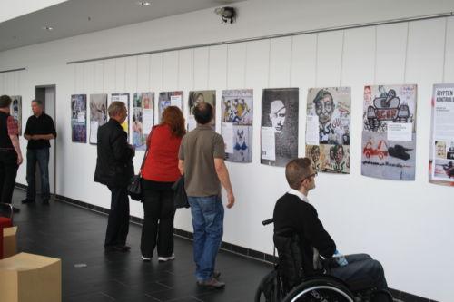 """Ausstellung """"Wände des Widerstands"""""""
