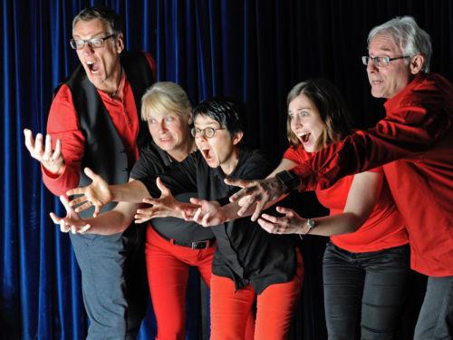 Impro-Theater Schwammdrueber